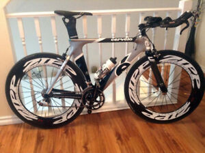 Full Carbon Road + Triathlon Cervelo (P2C MODEL 2010 )
