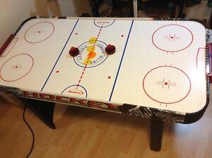 Table de Hockey sur coussin d'air