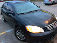 2004 Toyota Corolla Ce,Etested newer winter tires, ready to go