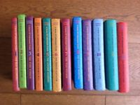 Lemony Snicket, A Series of Unfortunate Events 1-12