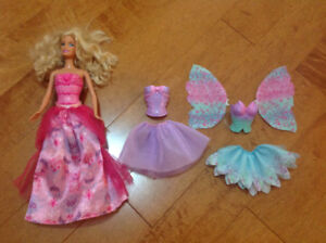 Barbie + 3 outfits