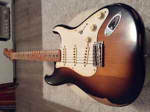 Fender stratocaster road worn 50's