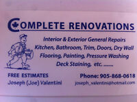 Complete Renovations