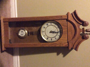 Wall grandfather clock