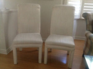 Ivory Parson Chairs