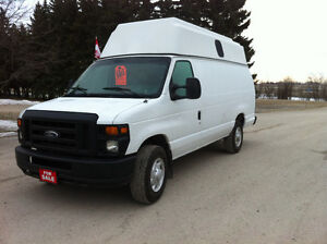 2008 FORD E350 ECONOLINE RAISED ROOF VAN SALE $1500 OFF
