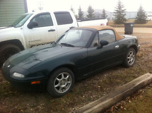 1994 Mazda MX-5 Miata Convertible For Sale Moose Jaw Regina Area image 1