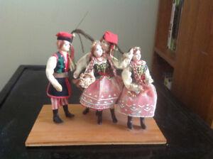 Vintage Polish.Dancers Dolls