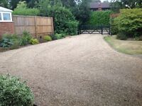 Parkng space for rent-walking distance to West Byfleet Station.
