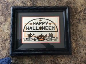 Halloween cross stitch 18x15