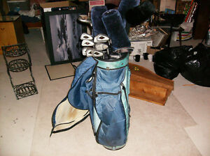 Right hand golf clubs & bag