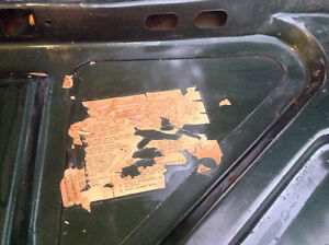 65-66 ford mustang coupe / convertible OEM trunk lid West Island Greater Montréal image 2