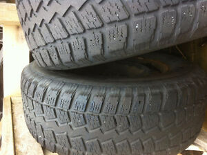 FORD f150 WINTER TIRES AND RIMS BARELY USED St. John's Newfoundland image 3