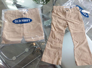 Brand new girls old navy pants, 5t and a 3t
