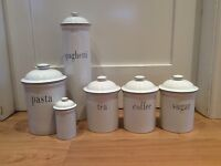 Habitat kitchen storage jars