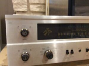 Vintage Fisher 400B fm tube stereo receiver