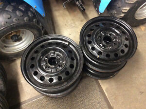 4x114.3 and 4x100 Steel Rims