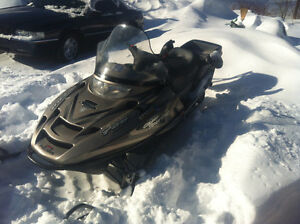 Great ice fishing/family2 up sled with Extras