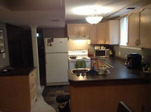Room for rent in 3 bedroom basement apt.