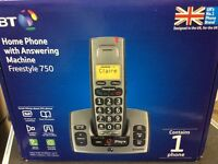 New BT TELEPHONE & ANSWERING Machine