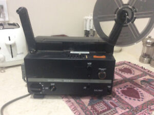 Bell & Howell duel 8 movie projector