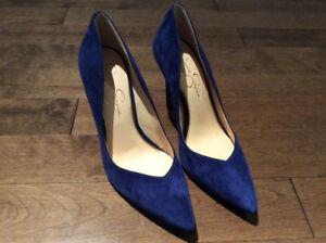 New, Jessica Simpson Suede Cylvie dress pumps, size 9