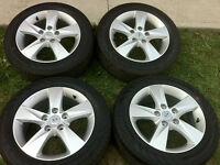 205/55/R16,Hyundai Original Alloy Rims With All Season Tires