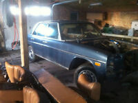 1975 Mercedes 240d 4 Speed Manual Parting Out