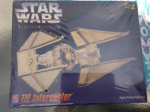 Gold plated Star Wars model