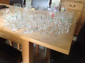 Collection of assorted glasses (over 50 in total)