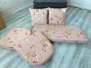 Cushions for Wicker loveseat and chairs