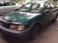 Toyota Tercel 1998 -As is-