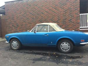 1971 FIAT SPIDER 124 SPORT 1600cc