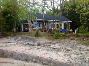 Waterfront home quiet 2 acres salmon river