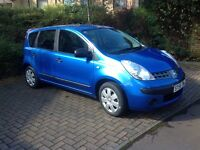 Nissan Note. 75,100 miles FSH.