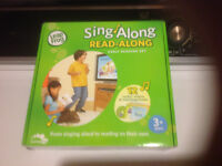 Leap Frog Sing-along, read-along Early Readng Set ..$15.00