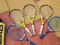Tennis and bag