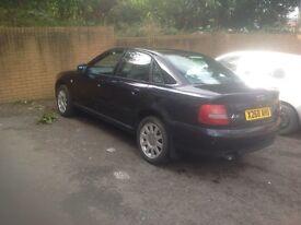 AUDI A4 2000/2001 1.8 petrol