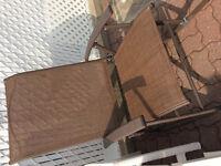 Chaise berçante neuve pour patio