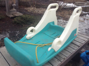 Step 2 double sled