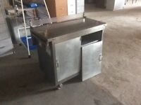 Stainless steal storage cupboard