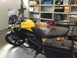 BMW Motorcycle 2012 F650GS 800CC low mileage