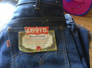 Awesome 1970's Levi's Bell Bottoms