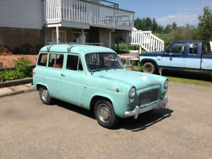1960 English Ford Anglia Wagon / Escort $6500