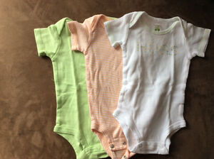 3 Caters onesies size 3 months
