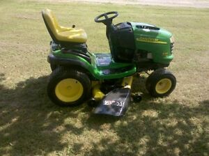 wanting to buy a riding lawnmower