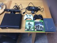 Xbox 360 Kinect with games (price negotiable)