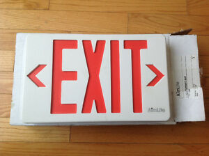 2 Exit Signs