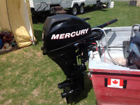 Boat, motor, trailer and accessories