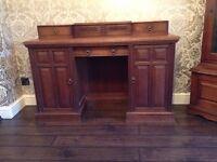 Solid old desk/dressing table
